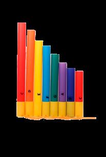 Цветные ноты (Boomwhackers)