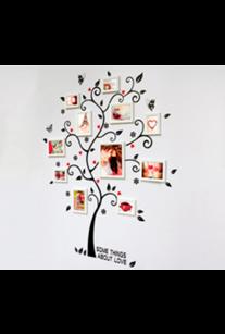 Наклейка. Дерево с фотографиями