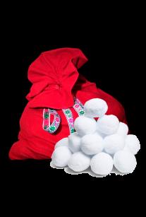 Мешок со снежками