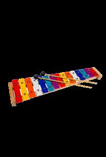 Металлофон цветной 15 нот