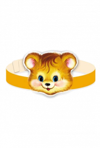 Маска-ободок Медвежонок