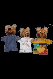Набор рукавичек Три медведя