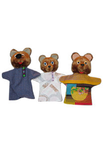Рукавички Три медведя