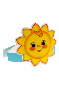 Маска-ободок Солнышко