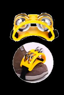 Тамбурин на ногу