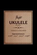 Струны для укулеле Flight FUSSC-100