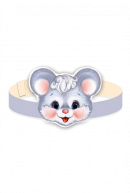 Маска-ободок Мышка