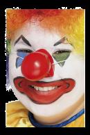 Нос клоунский на резинке