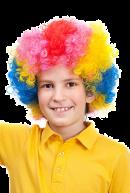 Парик цветной Клоун