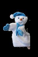 Рукавичка Снеговик