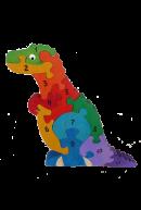 Головоломка Тиранозаврик - счет