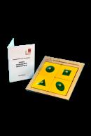Рамки и вкладыши Монтессори (4 планшета)