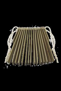 Трещотка пластинчатая с веревочками (бук)