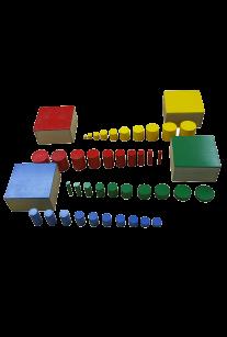 Цветные цилиндры