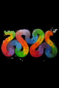 Головоломка Змейка-Алфавит